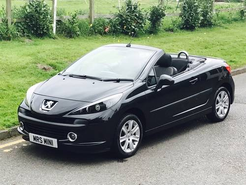 2007 Peugeot 207 Sport CC Black SOLD (picture 2 of 6)