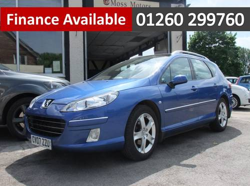 2007 PEUGEOT 407 2.0 SW SPORT HDI 5DR Manual SOLD (picture 1 of 6)