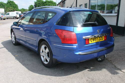 2007 PEUGEOT 407 2.0 SW SPORT HDI 5DR Manual SOLD (picture 3 of 6)
