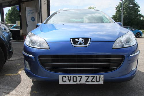 2007 PEUGEOT 407 2.0 SW SPORT HDI 5DR Manual SOLD (picture 4 of 6)