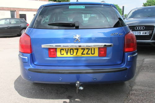 2007 PEUGEOT 407 2.0 SW SPORT HDI 5DR Manual SOLD (picture 5 of 6)