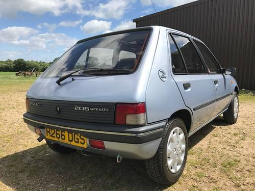 1990 Peugeot 205 1.6 Automatic UNDER OFFER SOLD (picture 3 of 6)