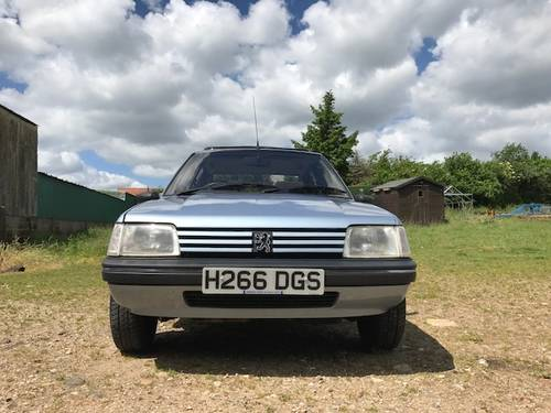 1990 Peugeot 205 1.6 Automatic UNDER OFFER SOLD (picture 5 of 6)