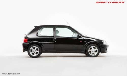 2001 PEUGEOT 106 GTI // JUST 21k MILES // FOR SALE SOLD (picture 1 of 6)