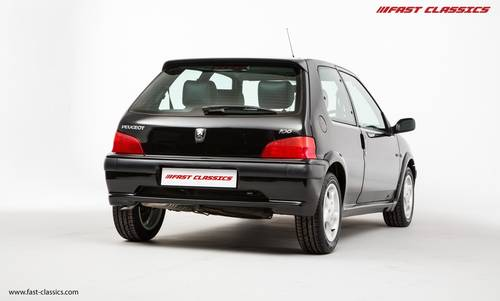 2001 PEUGEOT 106 GTI // JUST 21k MILES // FOR SALE SOLD (picture 2 of 6)
