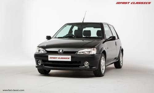 2001 PEUGEOT 106 GTI // JUST 21k MILES // FOR SALE SOLD (picture 3 of 6)