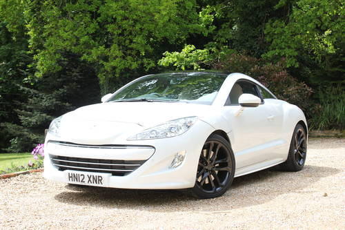 2012 PEUGEOT RCZ RARE 200 BHP SOLD (picture 1 of 1)