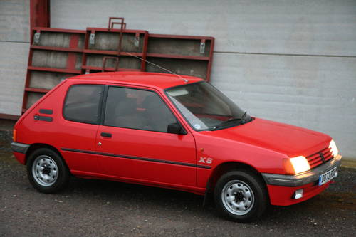 1987 Peugeot 205 XS 39000 miles For Sale (picture 1 of 6)