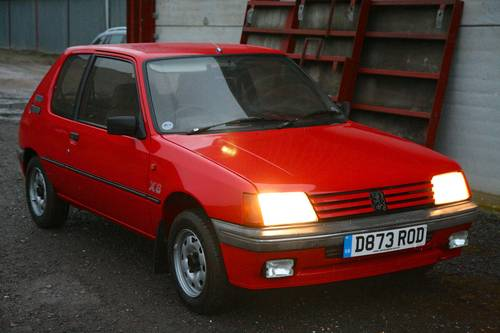 1987 Peugeot 205 XS 39000 miles For Sale (picture 5 of 6)