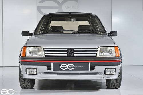 1987 A great Peugeot 205 GTi to be enjoyed- 66k miles from new  SOLD (picture 1 of 6)