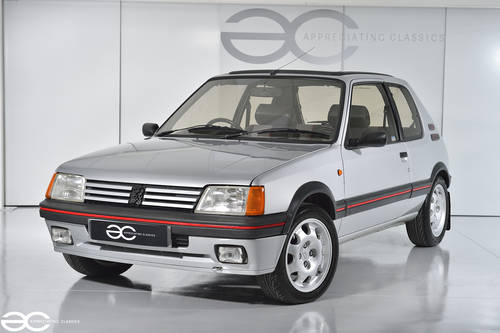 1987 A great Peugeot 205 GTi to be enjoyed- 66k miles from new  SOLD (picture 2 of 6)