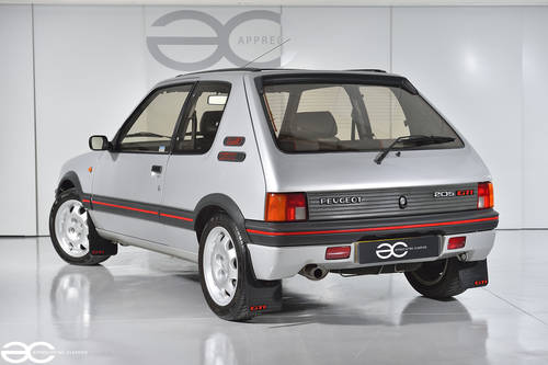 1987 A great Peugeot 205 GTi to be enjoyed- 66k miles from new  SOLD (picture 3 of 6)