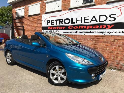 2007 Peugeot  307 CC 2.0 16v S Convertible SOLD (picture 1 of 6)