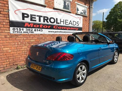 2007 Peugeot  307 CC 2.0 16v S Convertible SOLD (picture 2 of 6)