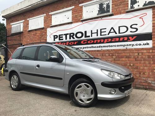 2003 Peugeot 206 SW 1.4 Entice Estate 5dr Petrol Manual SOLD (picture 1 of 6)