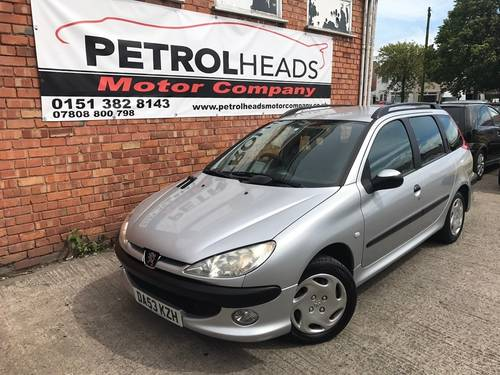 2003 Peugeot 206 SW 1.4 Entice Estate 5dr Petrol Manual SOLD (picture 2 of 6)