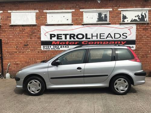2003 Peugeot 206 SW 1.4 Entice Estate 5dr Petrol Manual SOLD (picture 3 of 6)