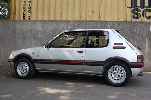 1990 Peugeot 1.6 GTi Low mileage two previous owners For Sale (picture 3 of 6)