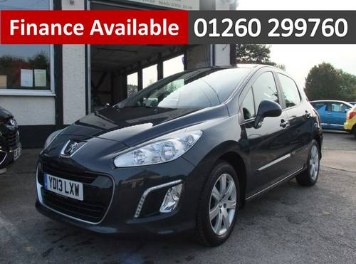 2013 PEUGEOT 308 1.6 HDI ACTIVE NAVIGATION VERSION 5DR SOLD (picture 1 of 6)