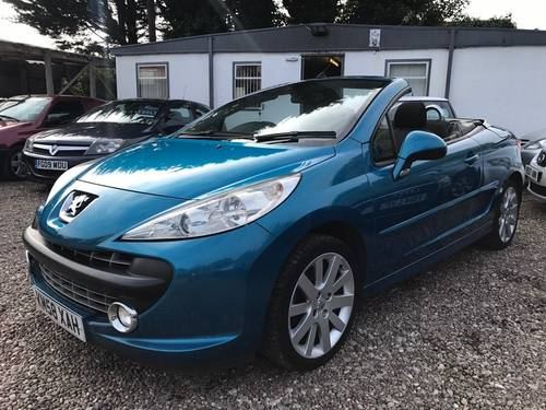 2009 Peugeot 207 CC 1.6 16v GT Convertible 2dr  SOLD (picture 1 of 5)