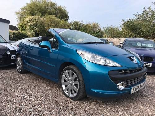 2009 Peugeot 207 CC 1.6 16v GT Convertible 2dr  SOLD (picture 2 of 5)