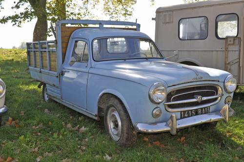 1960 Peugeot 403 Pick up barnfind condition SOLD by Auction (picture 1 of 4)