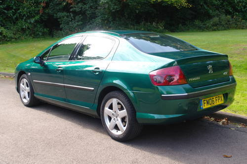 PEUGEOT 407 SE AUTO..1 OWNER.. 28,000 MILES! TOP SPEC..FSH SOLD (picture 6 of 6)