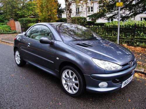 Fine 2006 Peugeot 206 Cc Allure 2 0 Convertible 29K Fsh 1 Owner Gmtry Best Dining Table And Chair Ideas Images Gmtryco