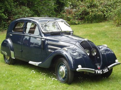 1936 PEUGEOT AIRFLOW SALOON SOLD (picture 2 of 6)