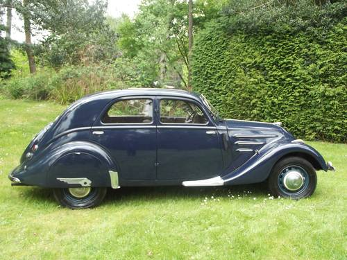 1936 PEUGEOT AIRFLOW SALOON SOLD (picture 3 of 6)
