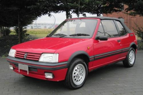 1994 PEUGEOT 205 CTi 1.9 CONVERTIBLE AUTOMATIC * ONLY 36000 MILES For Sale (picture 1 of 6)