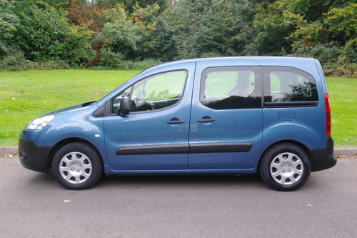 PEUGEOT PARTNER TEPEE.  WHEEL CHAIR ACCESS.. LOW MILES.. FSH SOLD (picture 1 of 6)