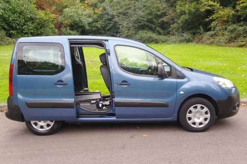 PEUGEOT PARTNER TEPEE.  WHEEL CHAIR ACCESS.. LOW MILES.. FSH SOLD (picture 6 of 6)