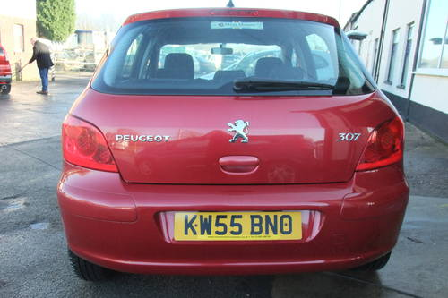 2006 PEUGEOT 307 1.6 S 5DR AUTOMATIC SOLD (picture 5 of 6)