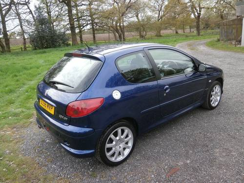 2006 '56' PUG 206 2.0 GTI BLUE F.S.H INC BELT P/X BARGAIN!! SOLD (picture 3 of 6)