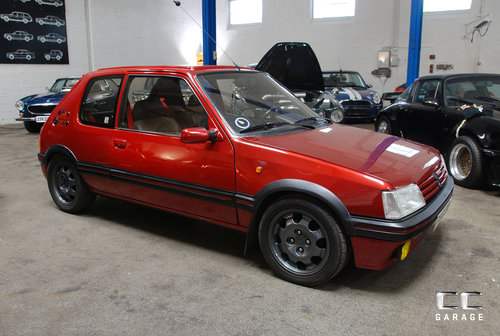 1989 Peugeot 205 GTI 1,9 L LHD SOLD (picture 1 of 6)