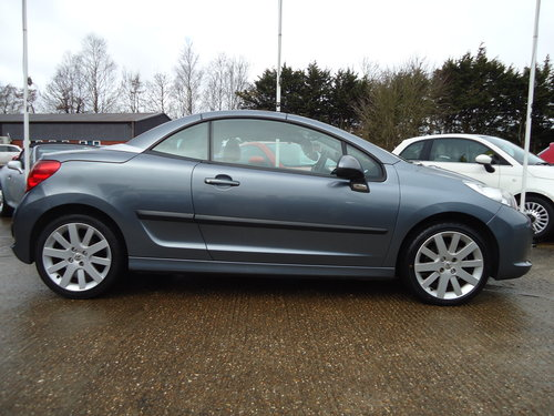 0808 ONE OWNER LOW MILEAGE 207 CC GT IN GREY METALLIC SOLD (picture 3 of 5)