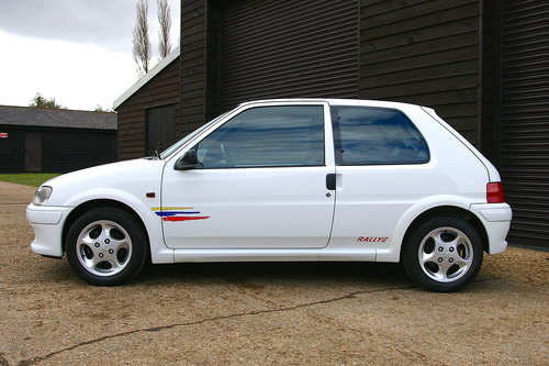 1998 Peugeot 106 1.6 Rallye S2 5 Speed Manual (46,621 miles) SOLD (picture 1 of 6)