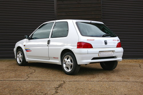 1998 Peugeot 106 1.6 Rallye S2 5 Speed Manual (46,621 miles) SOLD (picture 3 of 6)