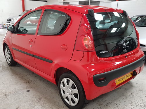 2009 PEUGEOT 107 1.0 URBAN* GENUINE 50,000 MILES*NEW SHAPE*  For Sale (picture 4 of 6)