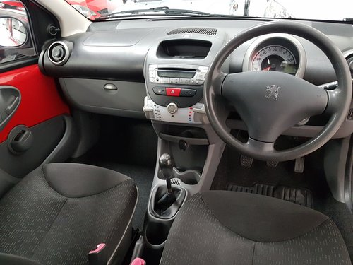 2009 PEUGEOT 107 1.0 URBAN* GENUINE 50,000 MILES*NEW SHAPE*  For Sale (picture 5 of 6)