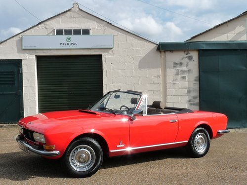 1978 Peugeot 504 Cabriolet, 29,000 miles SOLD (picture 1 of 6)