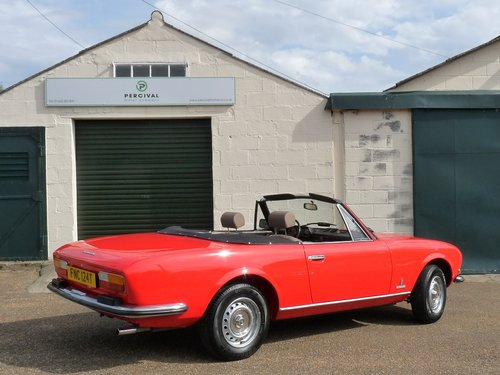 1978 Peugeot 504 Cabriolet, 29,000 miles SOLD (picture 2 of 6)