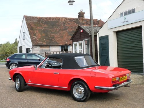 1978 Peugeot 504 Cabriolet, 29,000 miles SOLD (picture 5 of 6)