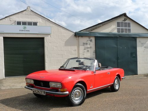 1978 Peugeot 504 Cabriolet, 29,000 miles SOLD (picture 6 of 6)
