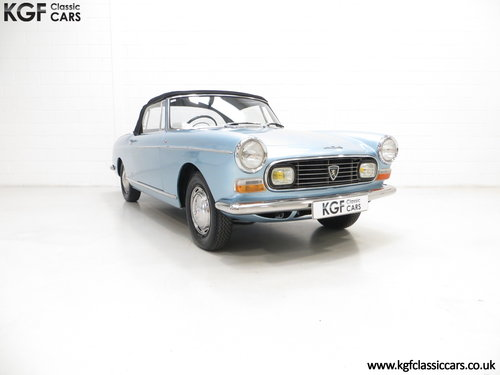 1968 A Pininfarina Peugeot 404 Cabriolet Injection SOLD (picture 1 of 6)