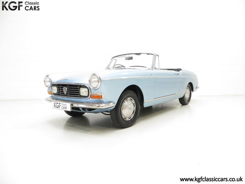 1968 A Pininfarina Peugeot 404 Cabriolet Injection SOLD (picture 2 of 6)