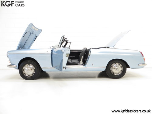 1968 A Pininfarina Peugeot 404 Cabriolet Injection SOLD (picture 3 of 6)