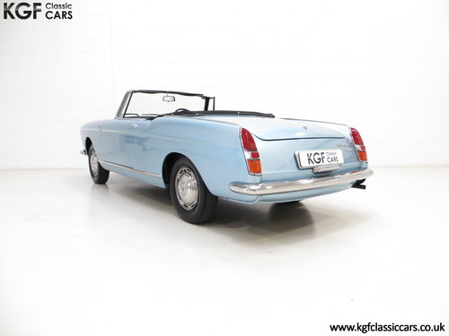 1968 A Pininfarina Peugeot 404 Cabriolet Injection SOLD (picture 4 of 6)