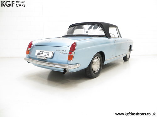 1968 A Pininfarina Peugeot 404 Cabriolet Injection SOLD (picture 5 of 6)
